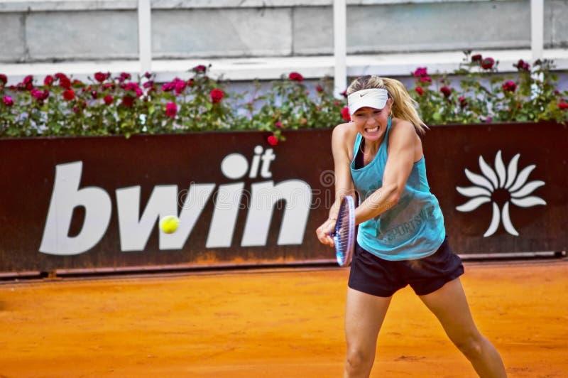 Download Maria Sharapova - Internazionali BNL D'Italia Editorial Stock Image - Image: 24788094