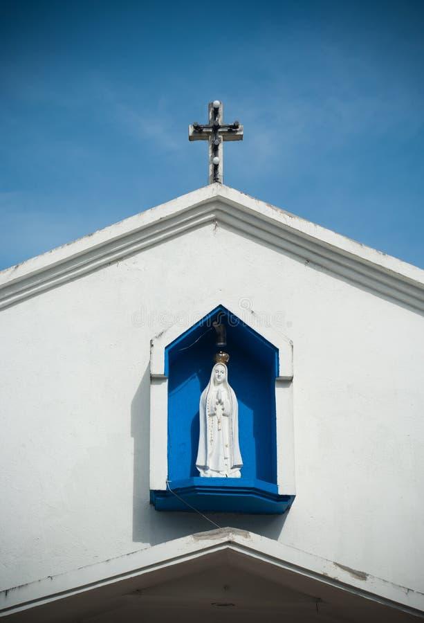 Download Maria statue stock photo. Image of white, idyllic, blue - 25425198