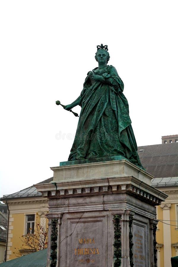 Maria Theresa, Klagenfurt, Österreich stockfotografie