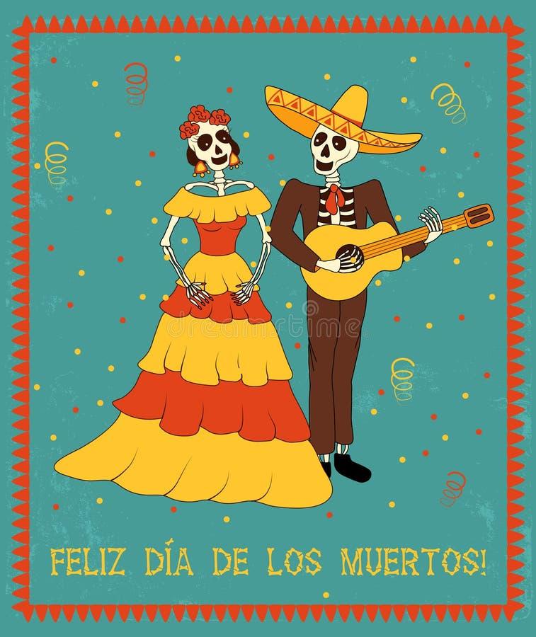 mariachi ilustração do vetor
