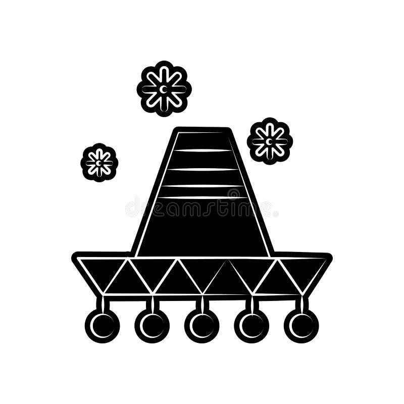 Mariachipictogram Element van dia DE muertos voor mobiel concept en webtoepassingenpictogram Glyph, vlak pictogram voor websiteon vector illustratie