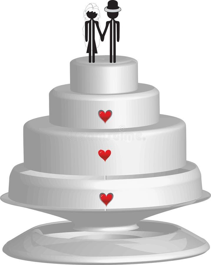 Mariage illustration libre de droits