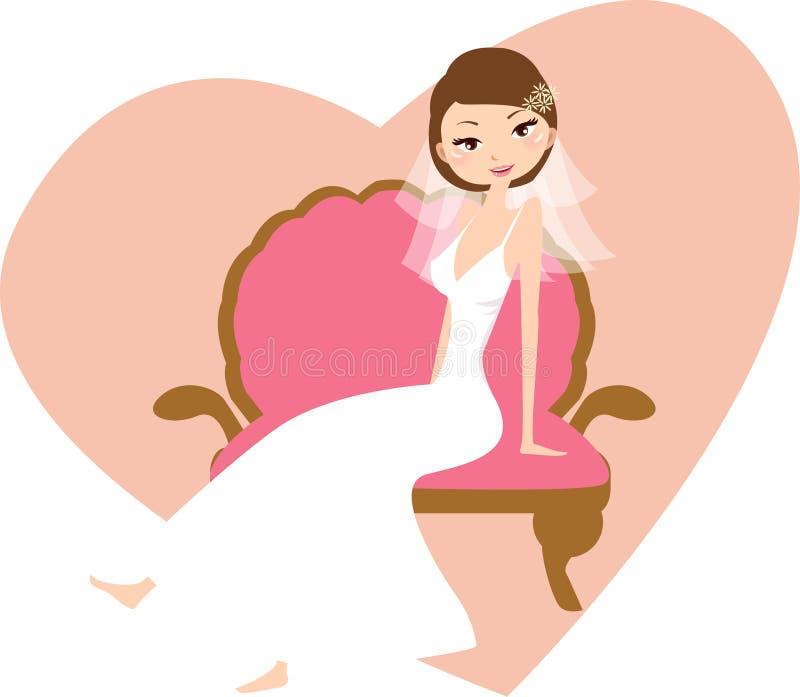 Mariage illustration de vecteur