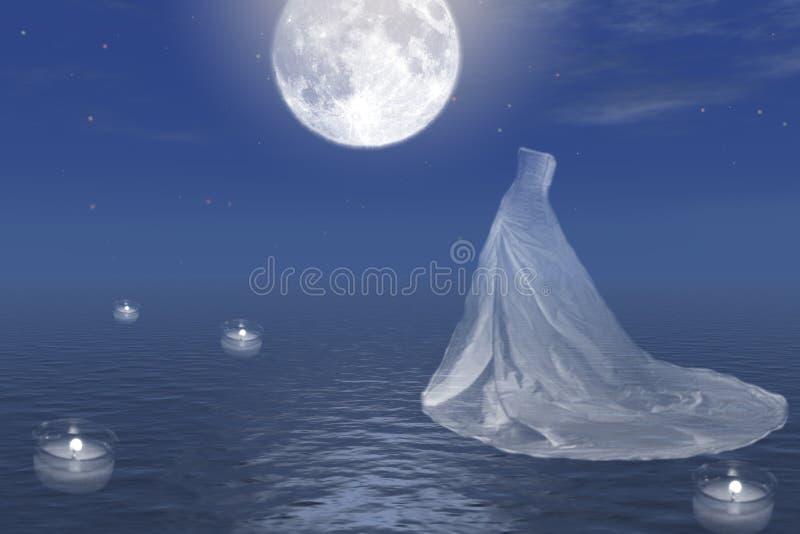 Mariage abstrait. illustration libre de droits