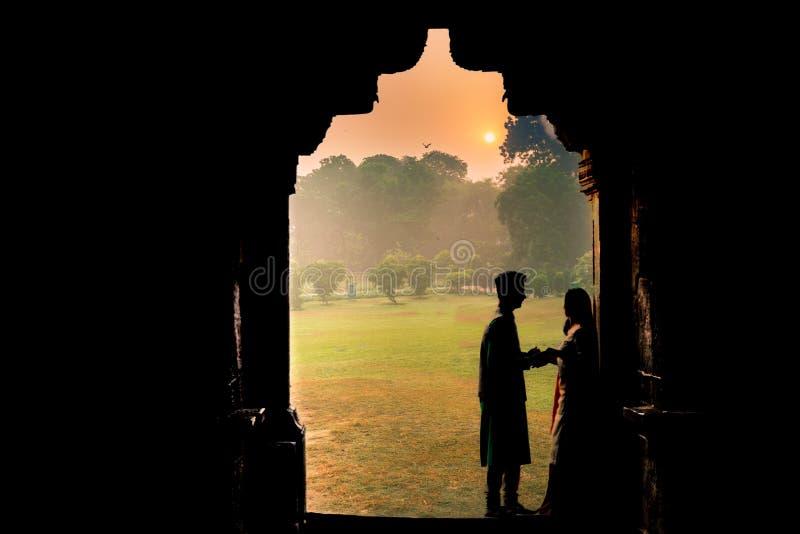 Mariage au jardin de Lodhi photographie stock libre de droits