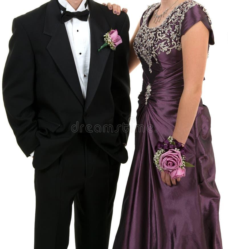 mariage de bal d'étudiants images stock