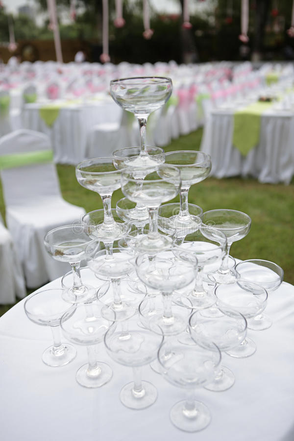 Mariage de Champagne images stock