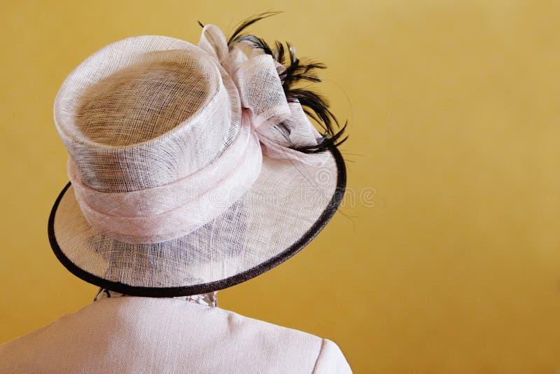 mariage de chapeau photographie stock libre de droits