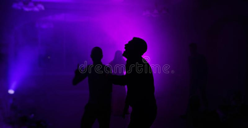 Mariage de club de danse photographie stock