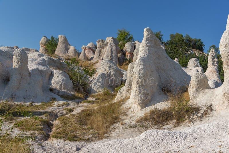 Mariage de pierre de phénomène de roche, Bulgarie photographie stock