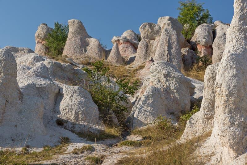 Mariage de pierre de phénomène de roche, Bulgarie image libre de droits