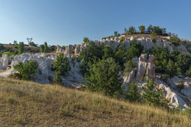 Mariage de pierre de phénomène de roche, Bulgarie images stock