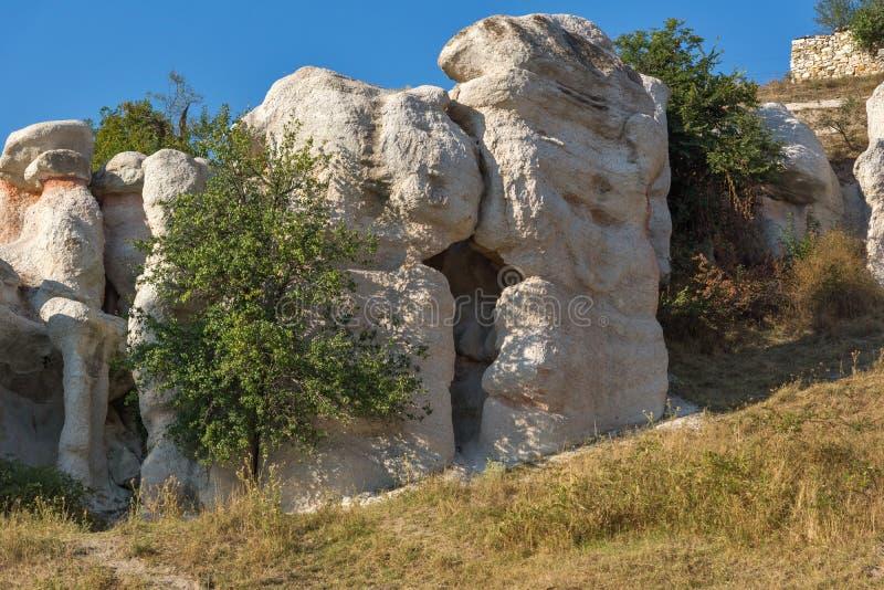 Mariage de pierre de phénomène de roche, Bulgarie photos libres de droits
