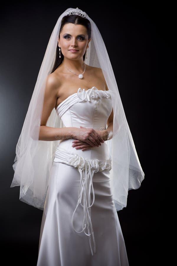 mariage de robe de mariée photographie stock libre de droits