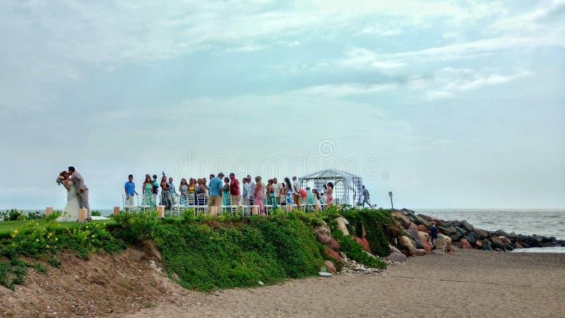 Mariage de Vallarta photos libres de droits