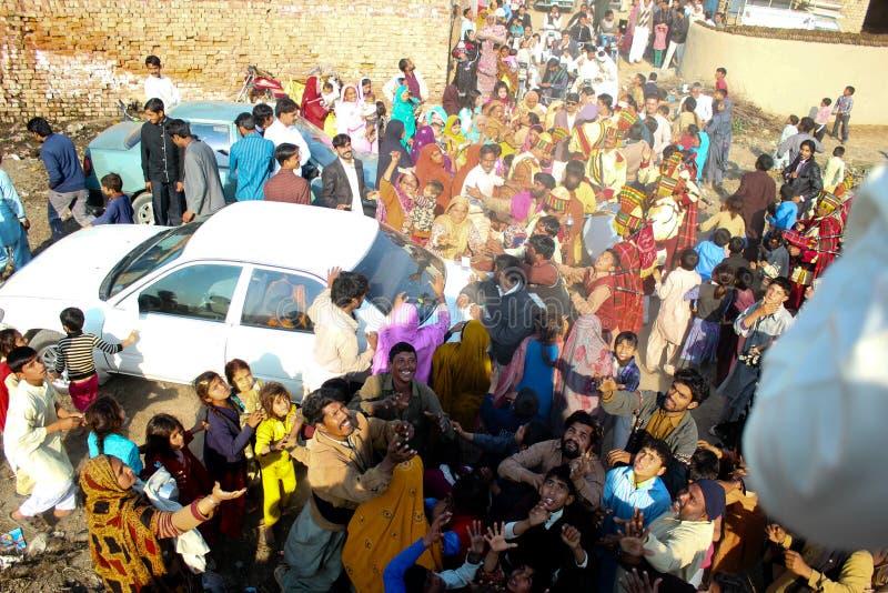 Mariage de village image stock