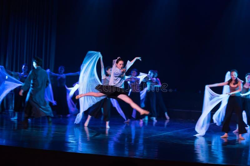 Mariage en périodes préoccupées 2--Âne de drame de danse obtenir l'eau photographie stock