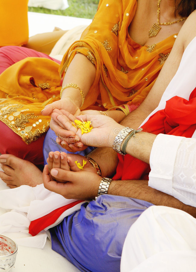 Mariage indien photo stock