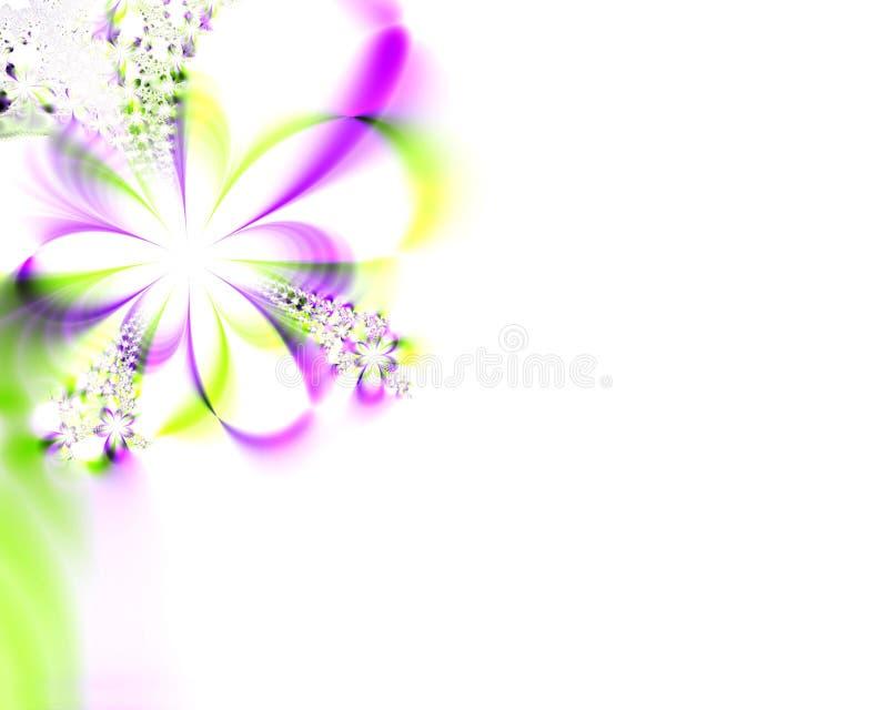Mariage-Invitation de fractale illustration stock