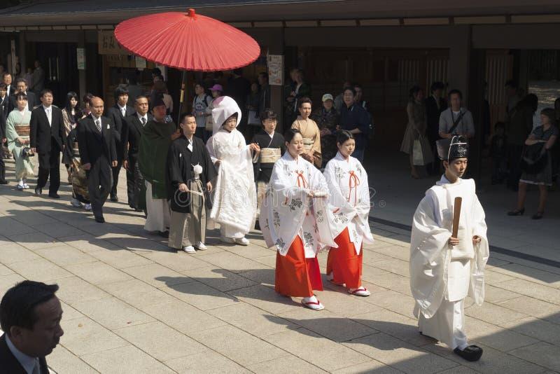 Mariage japonais photos stock