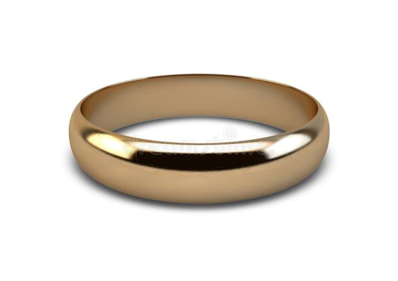 Mariage Ring Gold photos libres de droits