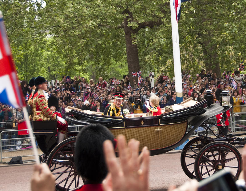 Mariage royal image stock