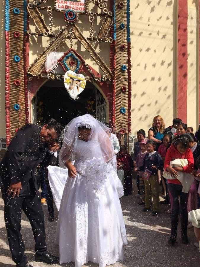 Mariage traditionnel au Mexique images stock