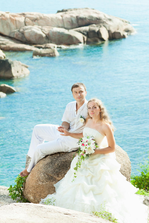 Mariage tropical photos stock