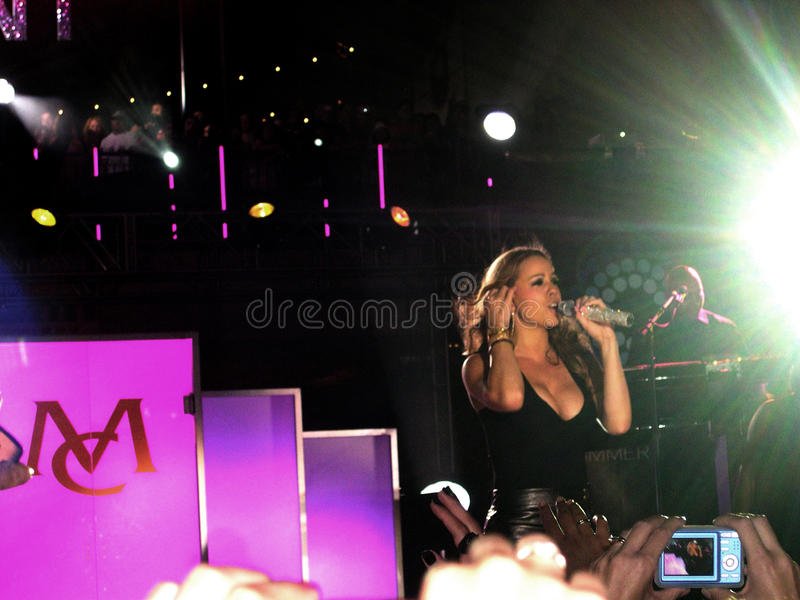 Mariah Carey imagen de archivo