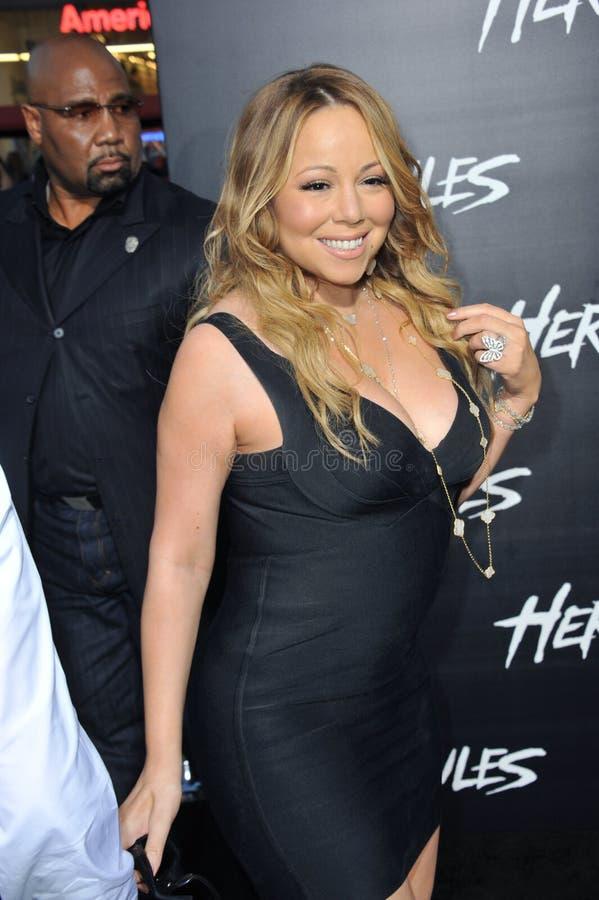 Mariah Carey royalty-vrije stock foto