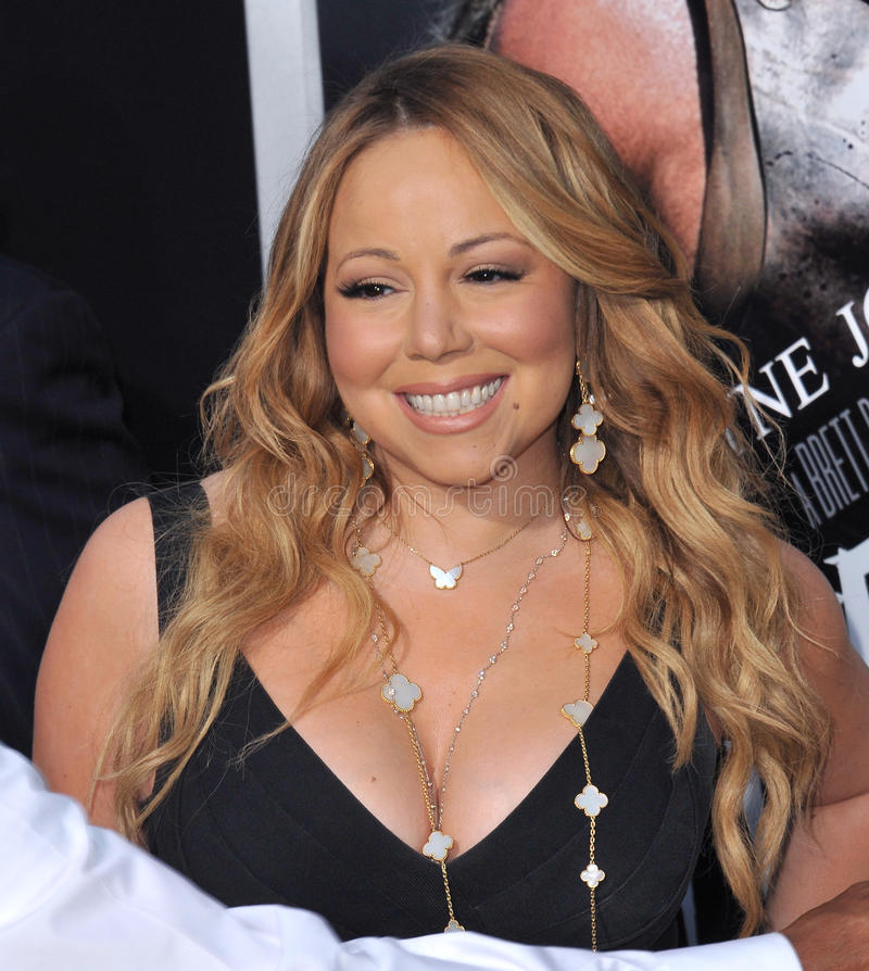 Mariah Carey στοκ φωτογραφία