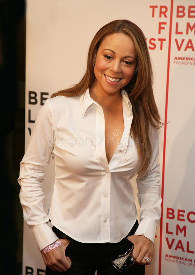 Mariah Carey στοκ εικόνα με δικαίωμα ελεύθερης χρήσης