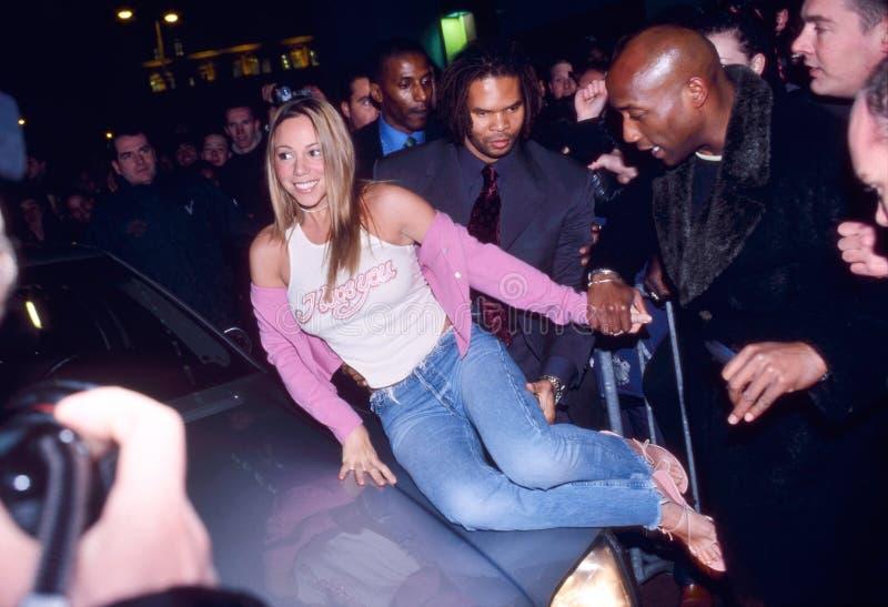 Mariah Carey en Amsterdam foto de archivo