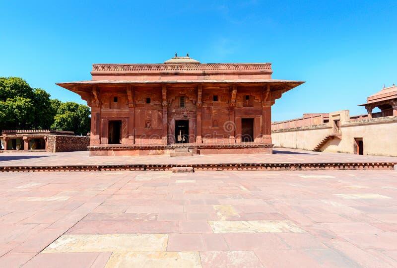 Mariam-uz-Zamani dom, Fatehpur Sikri, India zdjęcia royalty free