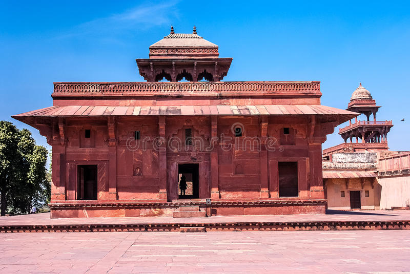 Mariam-uz-Zamani dom, Fatehpur Sikri, India obraz royalty free