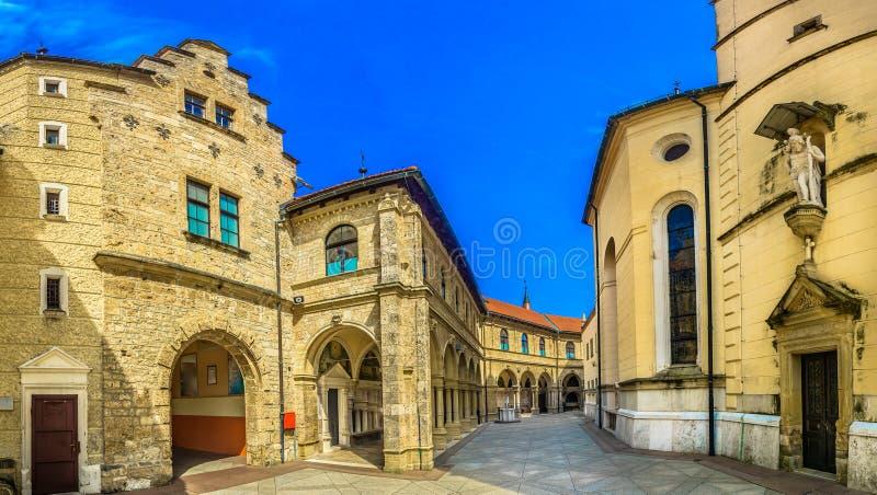 Marian heiligdom in Kroatië, Marija Bistrica royalty-vrije stock afbeeldingen