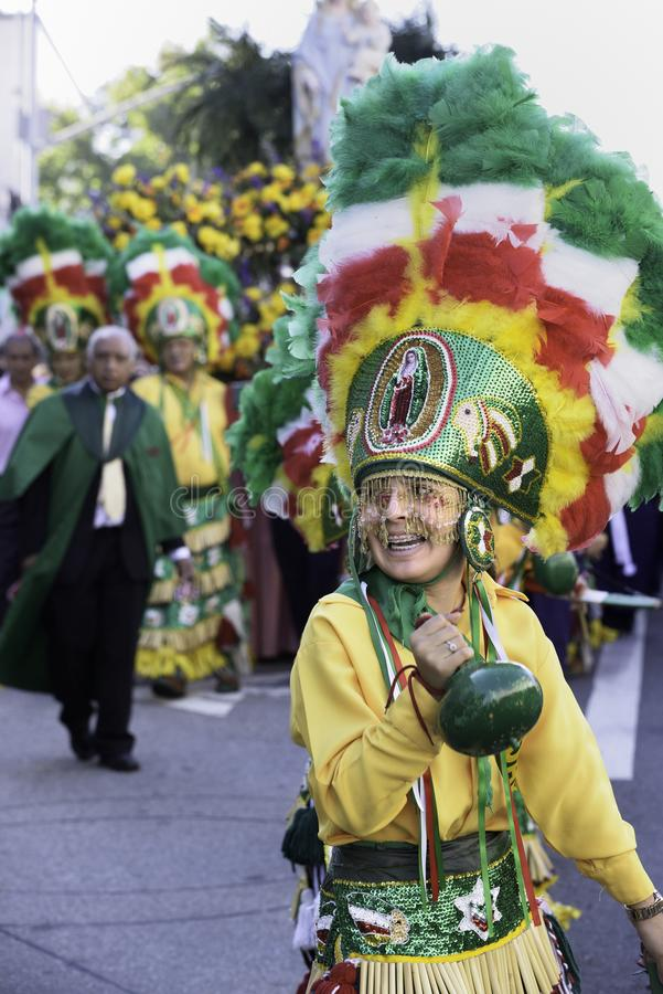Marian Procession grande fotos de stock royalty free