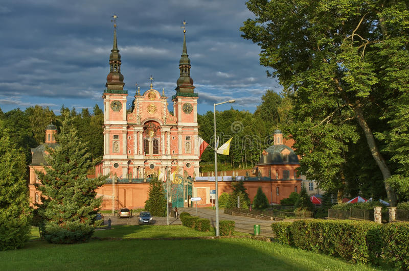 Marian Sanctuary dans Swieta Lipka photo stock