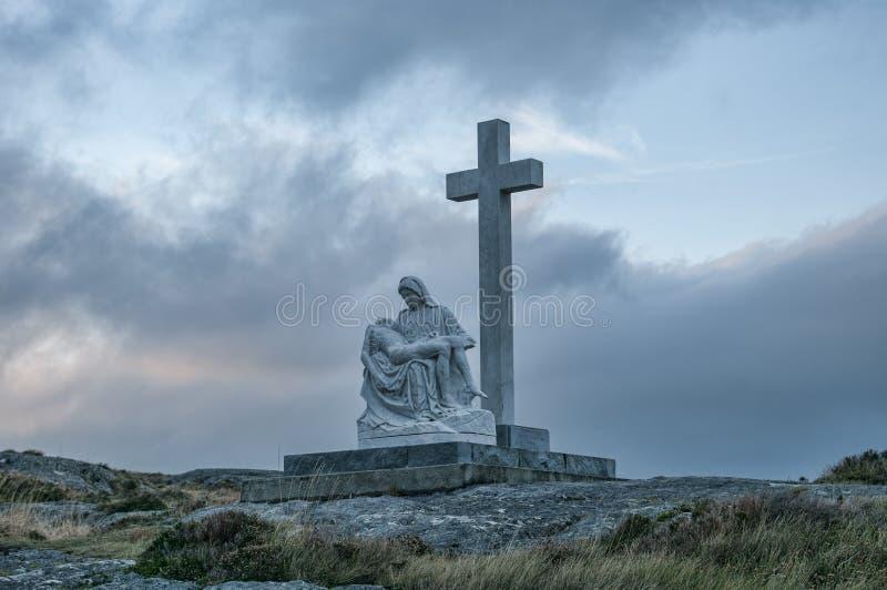 Marian Statue lizenzfreie stockfotografie