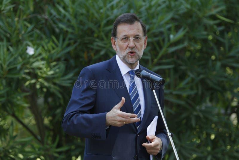 MAriano Rajoy fotos de archivo libres de regalías