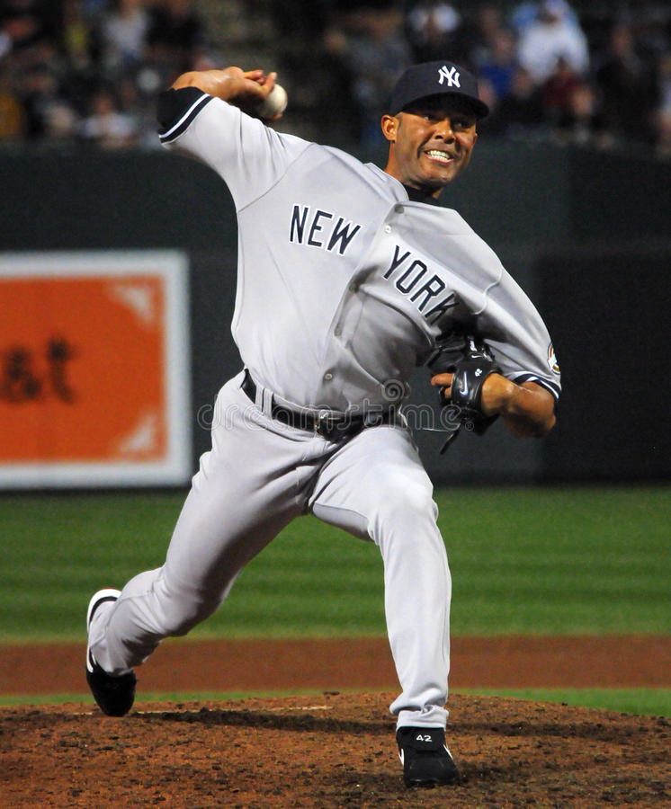 Mariano Rivera, Yankees de New York images stock