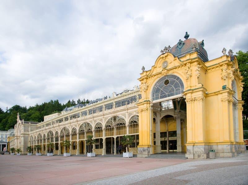 Marianske Lazne,捷克共和国 免版税库存图片