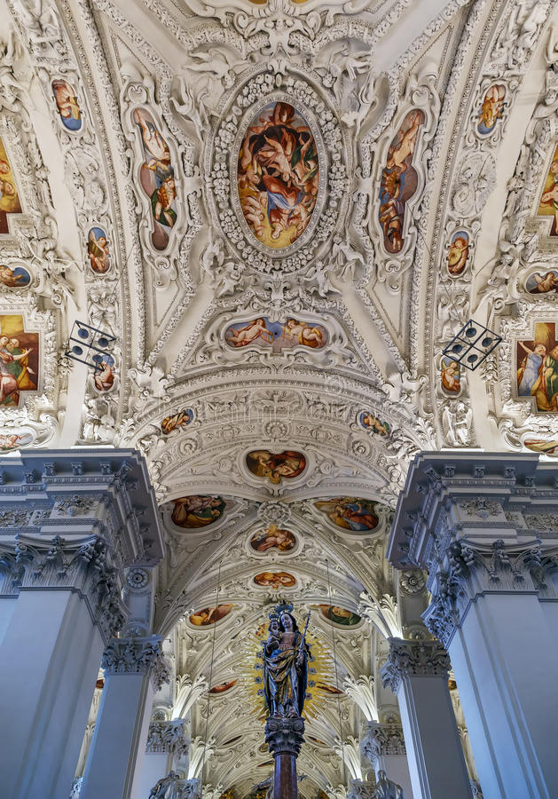 Mariazell-Basilika, Österreich stockfotos