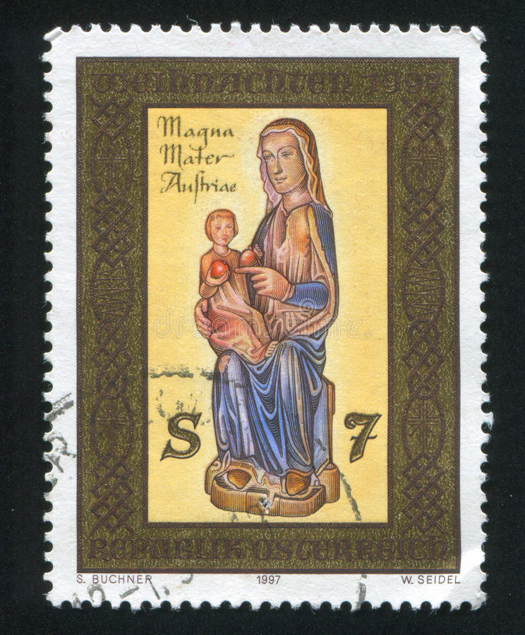 Mariazell Madonna imagem de stock royalty free