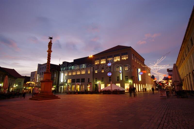Maribor - Grajski Trg royalty free stock images