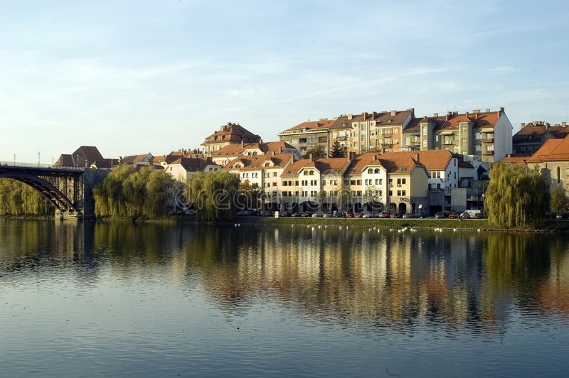 Maribor Slovénie images stock