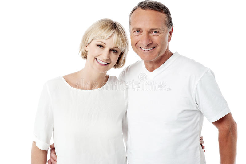 Marido e esposa felizes junto imagem de stock royalty free