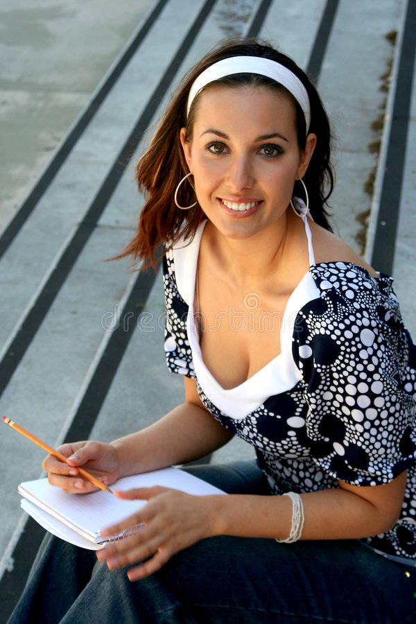 Download Marie 122 stock image. Image of learner, graduate, note - 1975791
