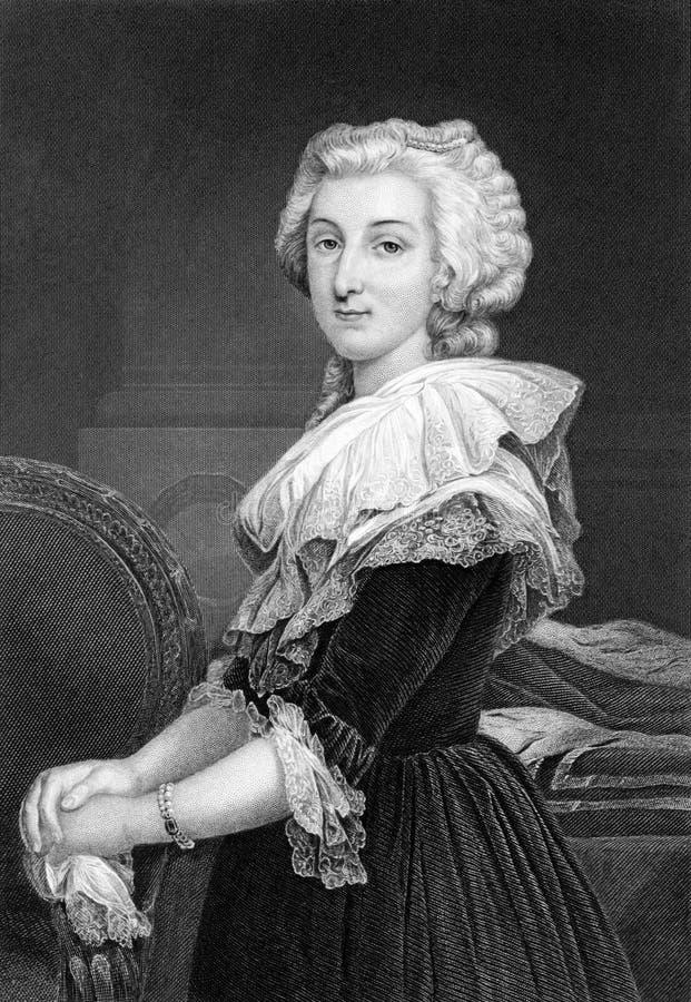 Marie Antoinette stockbild