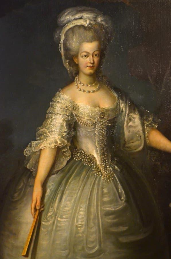 Marie-Antoinette, reine des Frances image libre de droits